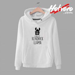 Llama Alpaca Kendrick Lamar Parody Unisex Hoodie