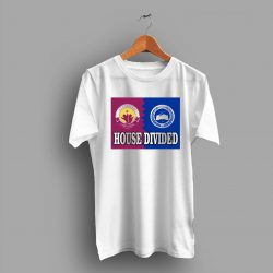 Military Branch House Divided College T Shirt