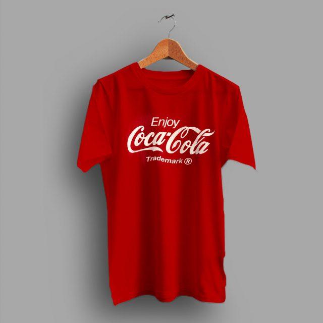 Nineties Red Vintage Coca Cola T Shirt