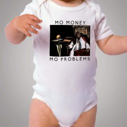 Notorious BIG Biggie Mo Money Mo Problems Baby Onesie