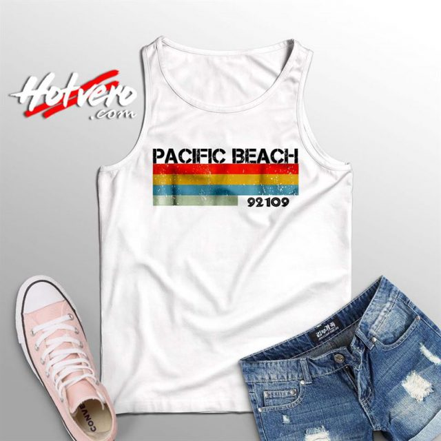 Pacific Beach City Postal Code 92109 Summer Tank Top
