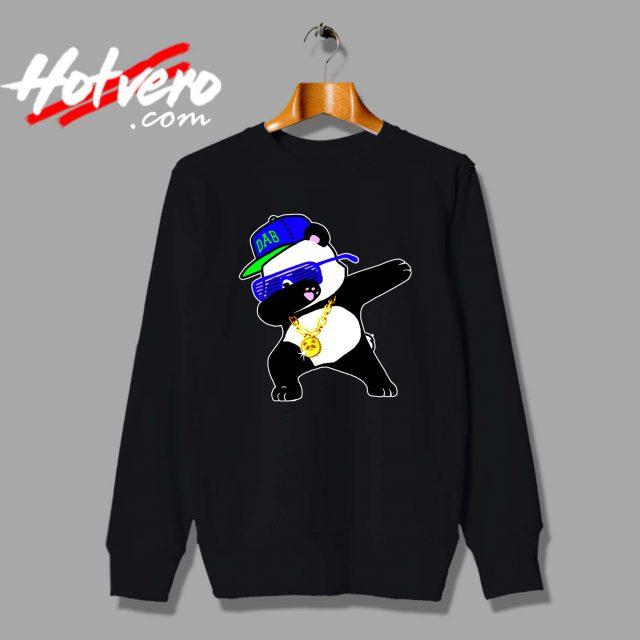 Panda Dabbing Swag Style Custom Sweatshirt