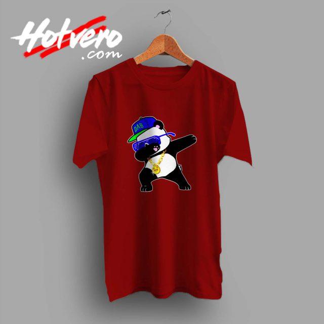 Panda Dabbing Swag Style Custom T Shirt