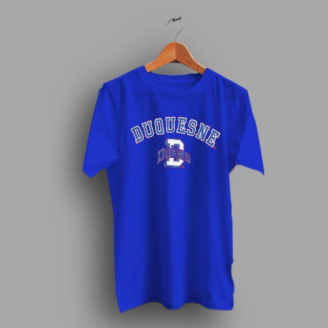 Pittsburgh Duquesne University Dukes Retro College T Shirt