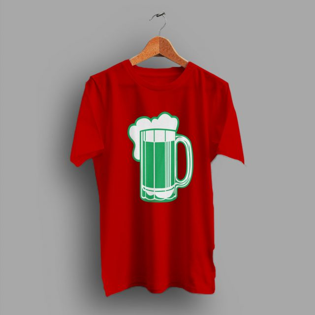 Reduced Shrinkage Green Beer For St Patricks T Shirt