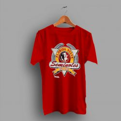 Retro Logo Florida State University Seminoles College T Shirt