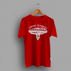 Spell Out Indiana University Hoosiers College T Shirt