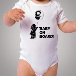 Star Wars Baby On Board Baby Onesie