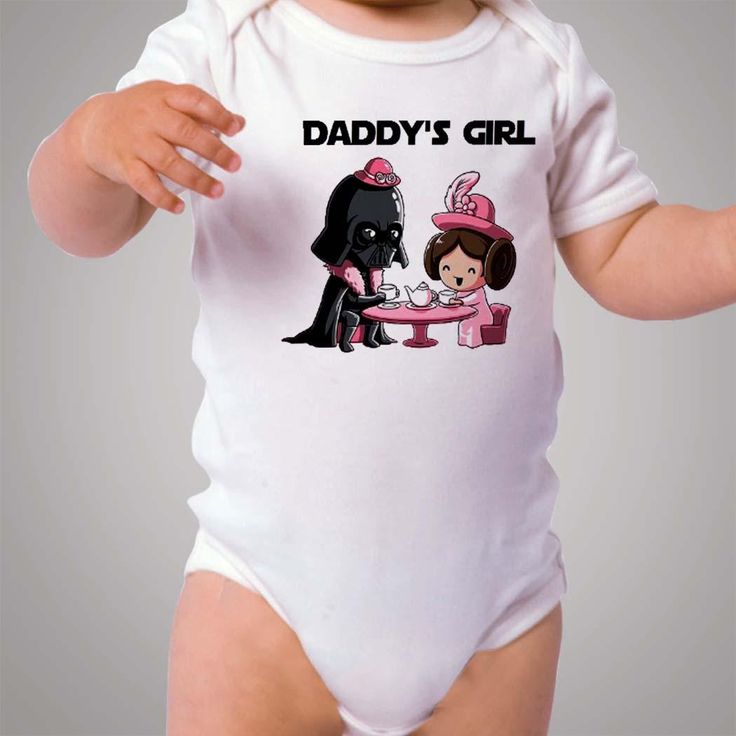 Star Wars Darth Vader Daddys Girl Baby Onesie - Hotvero