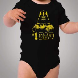 Star Wars Darth Vader My First Dad Baby Onesie
