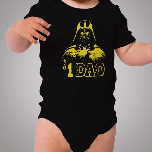 Star Wars Darth Vader My First Dad Baby Onesie