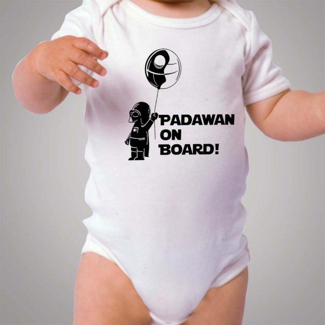 Star Wars Padawan On Board Baby Onesie