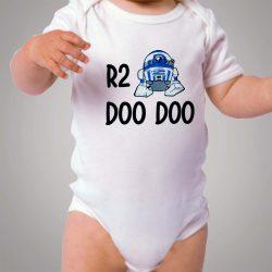 Star Wars R2D2 Doo Doo Baby Onesie