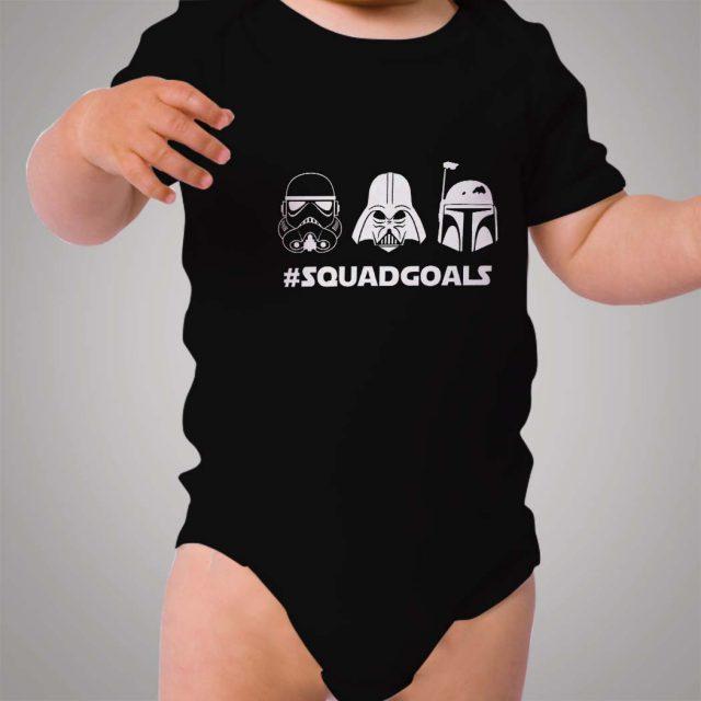Star Wars Squad Goals Baby Onesie