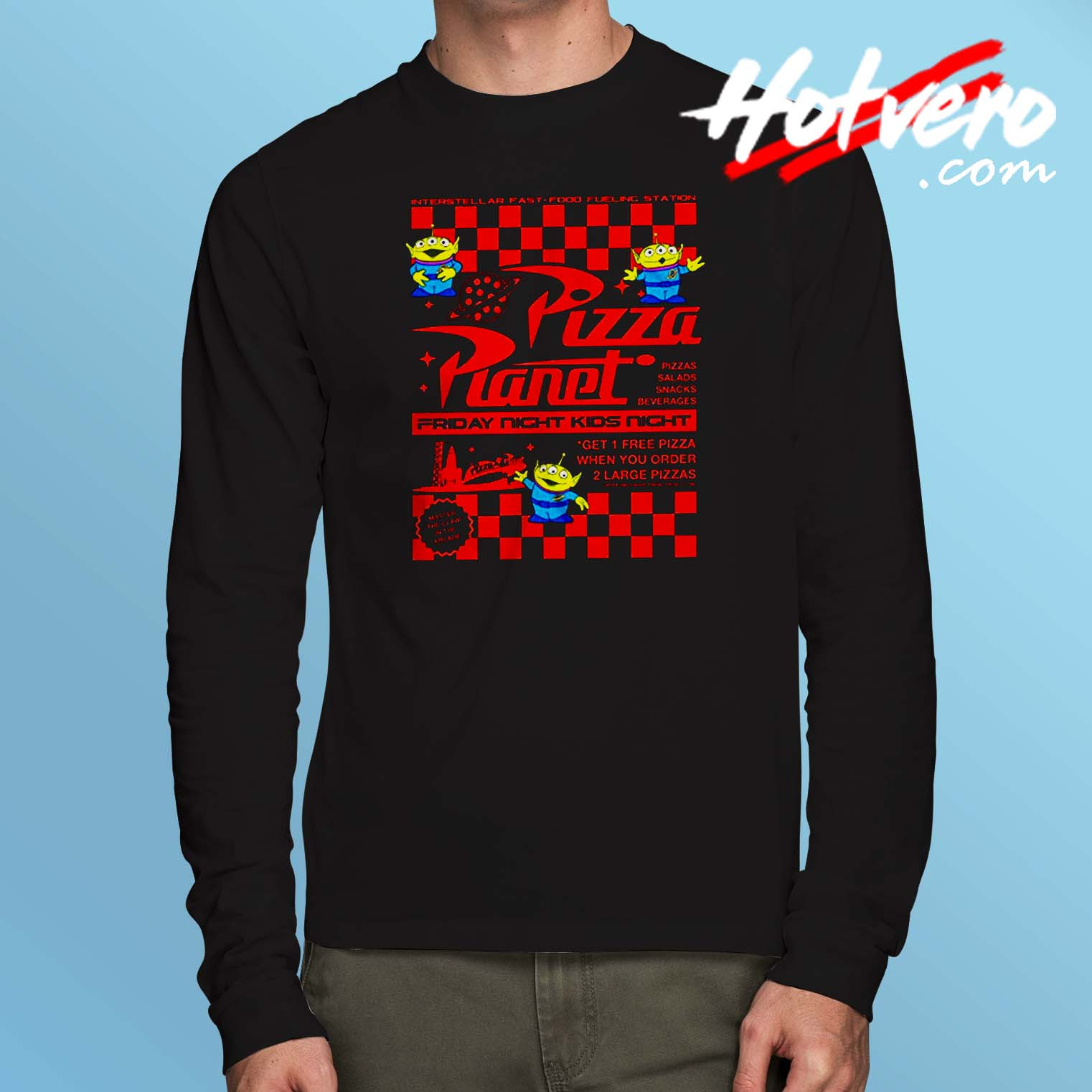 d7db2fea7 Toy Story Pizza Planet Long Sleeve T Shirt - Hotvero.com