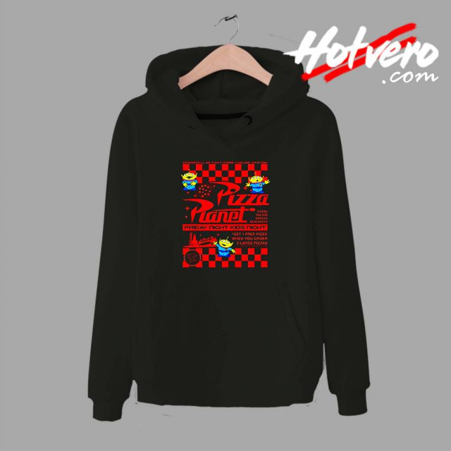 Toy Story Pizza Planet Unisex Hoodie