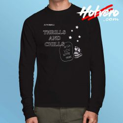 Travis Scott Astroworld Thrills Chills Long Sleeve T Shirt
