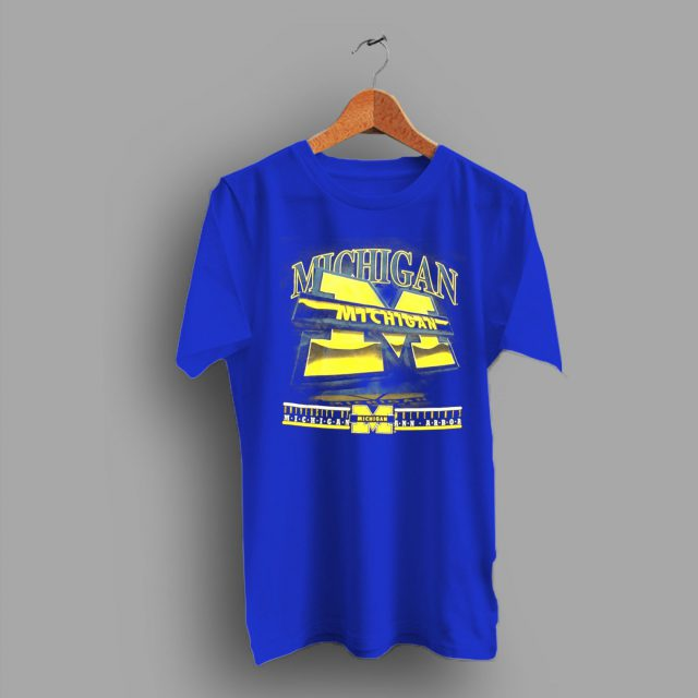 Univesity Of Michigan College Concept T Shirt
