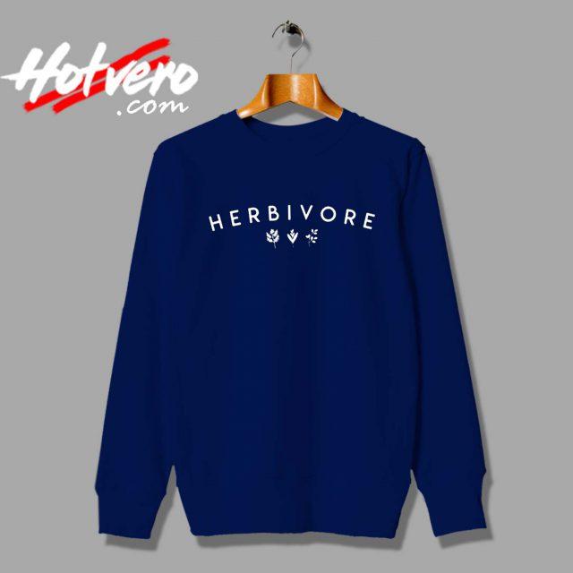 Vegan Herbivore Plant Custom Sweatshirt