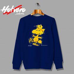 Vintage 90s Peanuts Woodstock Custom Sweatshirt