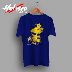 Vintage 90s Peanuts Woodstock Custom T Shirt