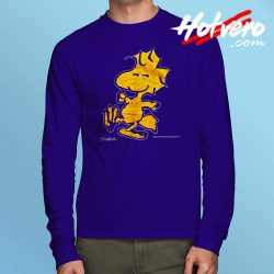Vintage 90s Peanuts Woodstock Long Sleeve T Shirt