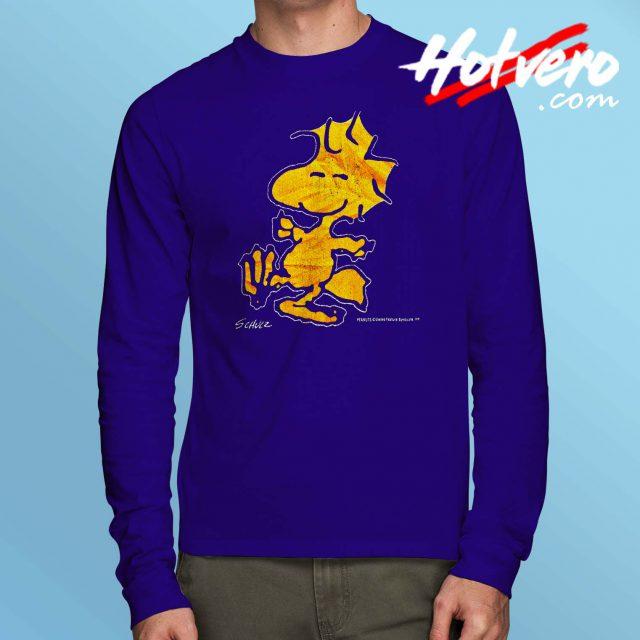 Vintage 90s Peanuts Woodstock Long Sleeve T Shirt