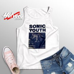 Vintage Sonic Youth Poster Cute Tank Top
