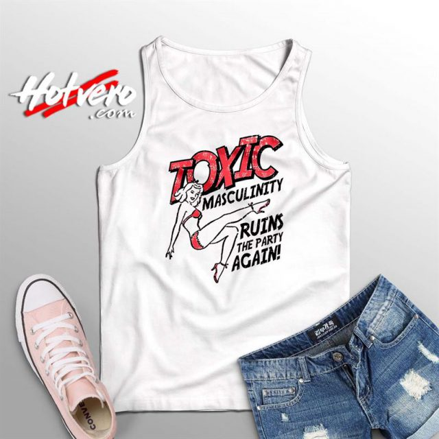 Vintage Toxic Masculinity Summer Tank Top