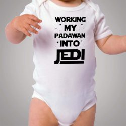 Working My Padawan Into Jedi Baby Onesie