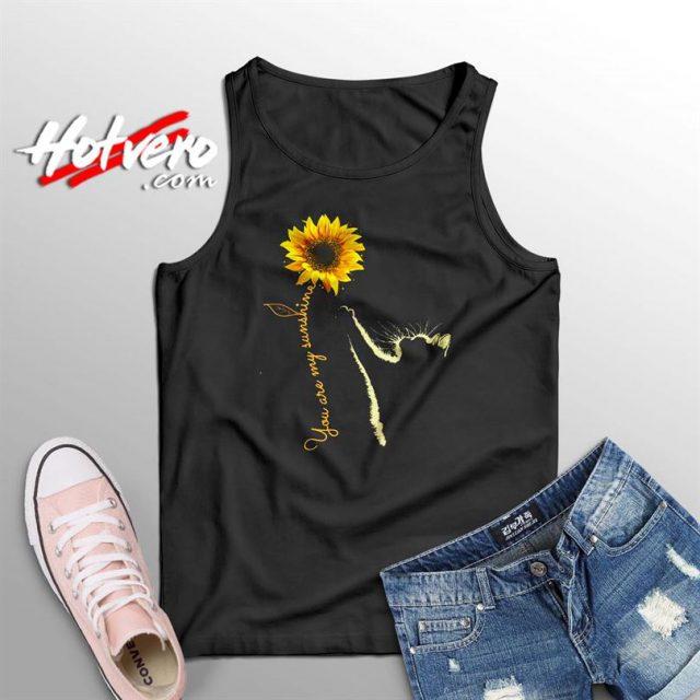 You Are My Sunshine Sunflower Summer Tank Top