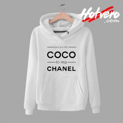 You Are The Coco To My Channel Quote Unisex Hoodie