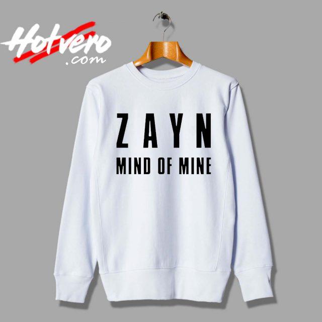 Zayn Malik Mind Of Mine Custom Sweatshirt