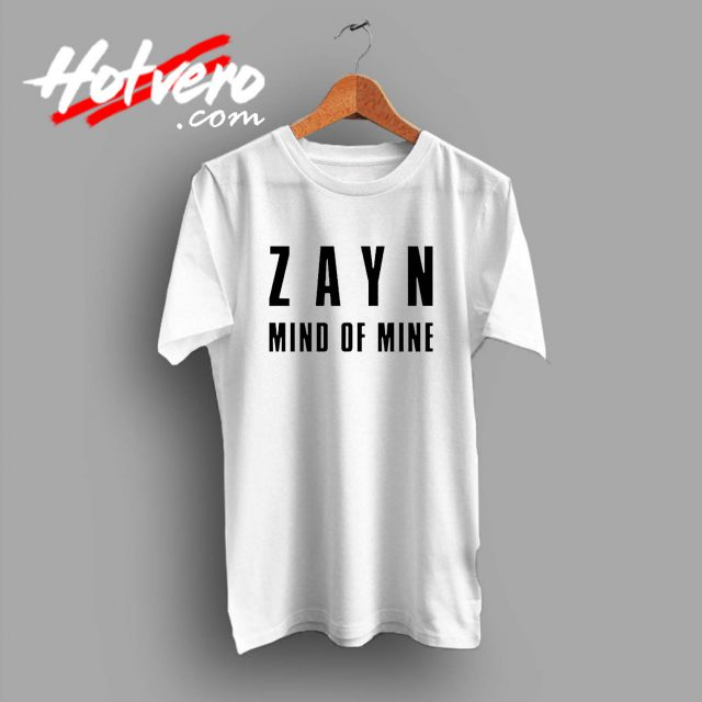 Zayn Malik Mind Of Mine Custom T Shirt
