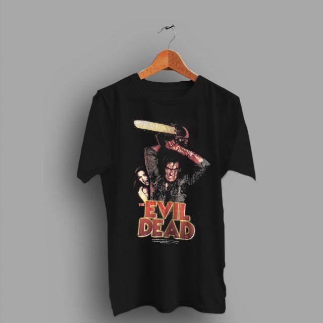 About Merchandise 1990s Evil Dead Vintage Movie T Shirt