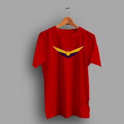 Air Force Inspired Logo Captain Marvel Movie T Shirt