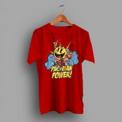 Bandai Games Inc Vintage Pac Man Power T Shirt