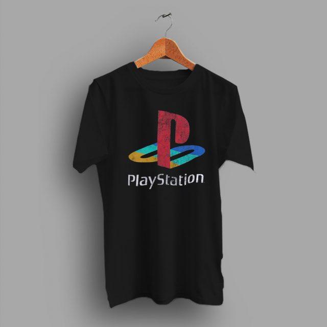 Big Logo Game Playstation Vintage T Shirt