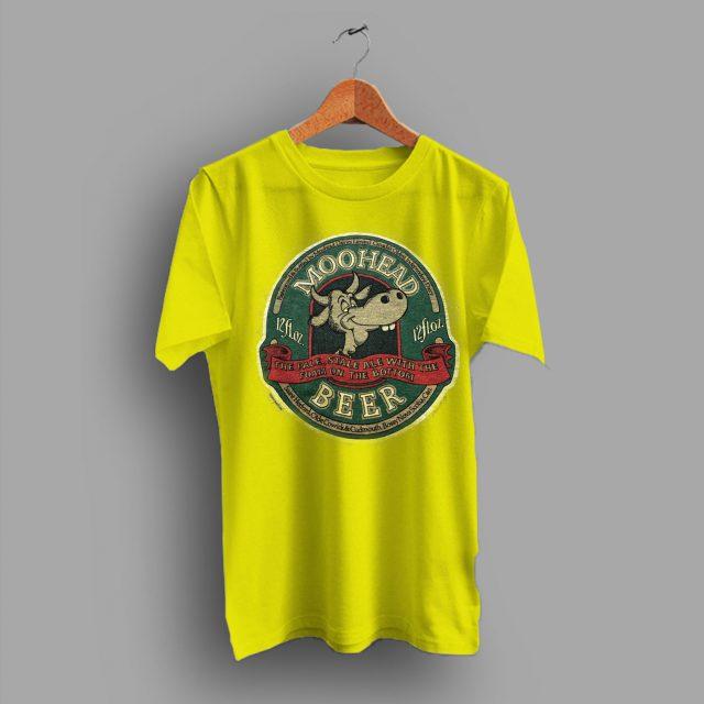 Booze Moose Canadian Moohead Beer T Shirt
