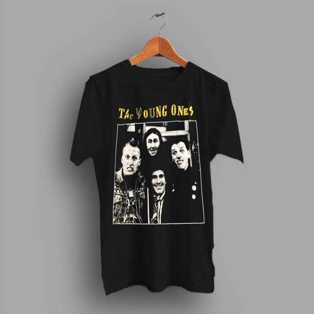 British Sitcom Comedy The Young Ones 1982 Punk T Shirt