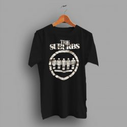 Early 1980s Vintage The Suburbs Punk Band T Shirt