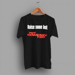 Horror Film Cult 90s Scary Movie Family Pet Sematary Two T Shirt