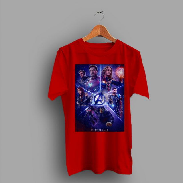 Inspired Captain Marvel Avengers End Game T Shirt