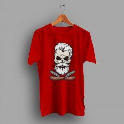 Let Get Barbershop Skull Vintage T Shirt