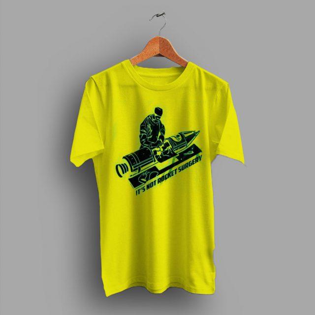 Rocket Surgery Funny Geek T Shirt