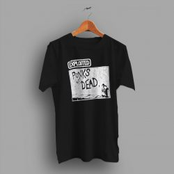 The Exploited Punks Not Dead Vintage 90s T Shirt