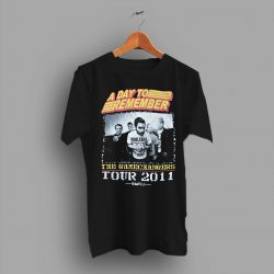 The Gamechangers Tour Small A Day to Rember Concert T Shirt