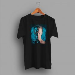 Arnold Schwarzenegger Action Film Terminator 2 Movie T Shirt