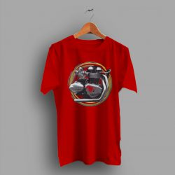 Engine Vintage Thruxton Motorcycle Classic T Shirt