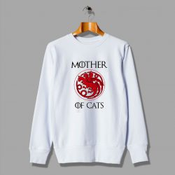 House Stark Thrones Gift Mother Of Cats Urban Sweatshirt